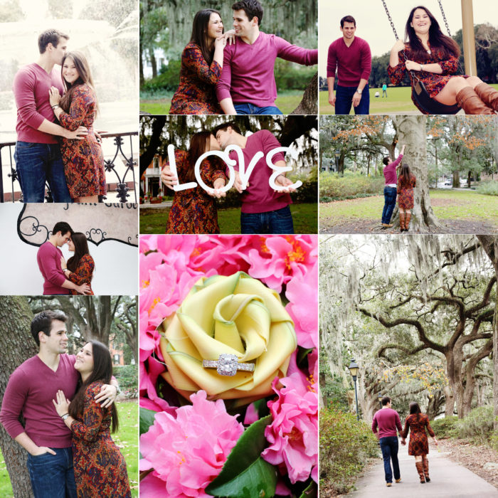 Savannah Marriage Proposal | Lafayette Square {Kayleigh & Alex}