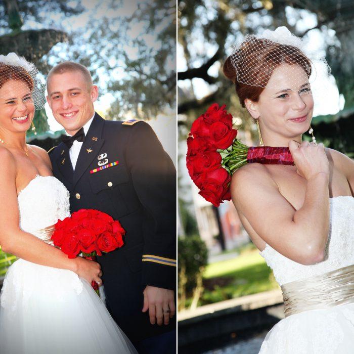 Savannah Military Wedding | Lafayette Square {Rachel & Brandon}