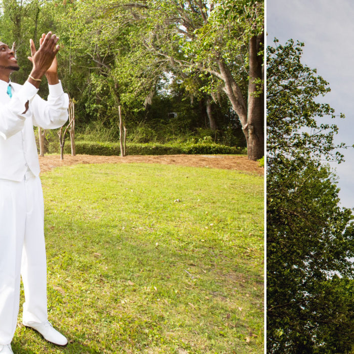 Gazebo Wedding {Kenyatta & Tommie} Hinesville, GA