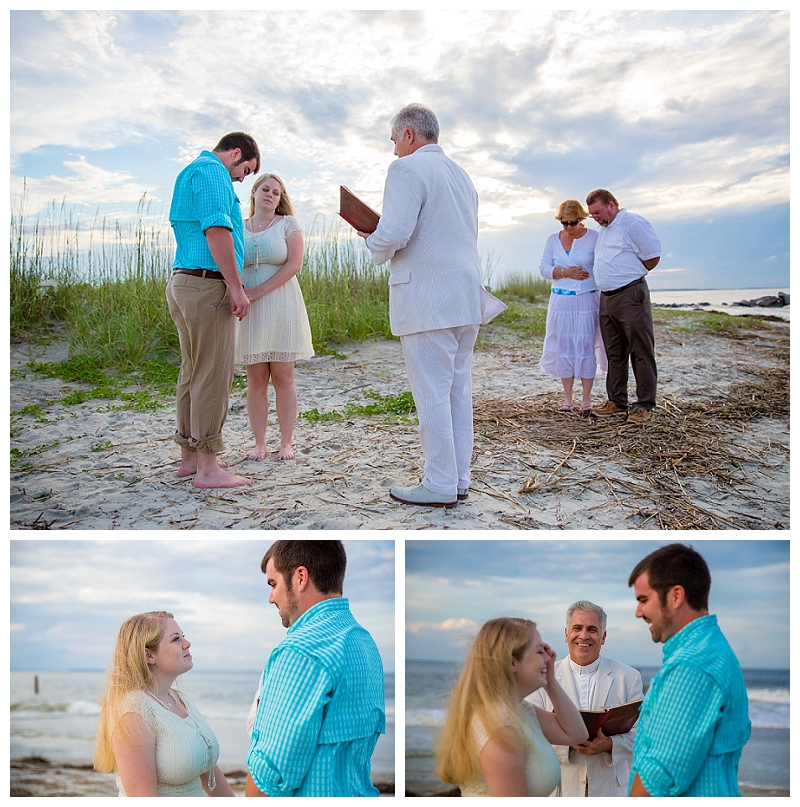 Congratulations To Rachel Michael Who Were Married By Rev Steve Schulte On Tybee S North Beach Wedding