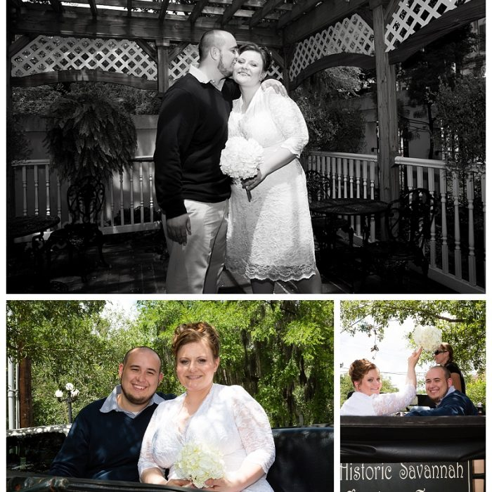 Presidents' Quarters Inn Wedding | Aida & Irnes | Savannah, GA