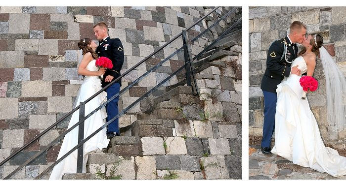 Savannah Military Wedding | Orleans Square | Hillary & Brian