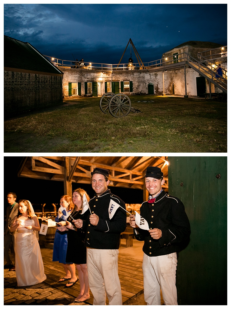 Old Fort Jackson Wedding