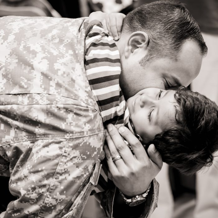 Savannah Military Homecoming | Daddy Surprises His Boy After 395 Day Deployment