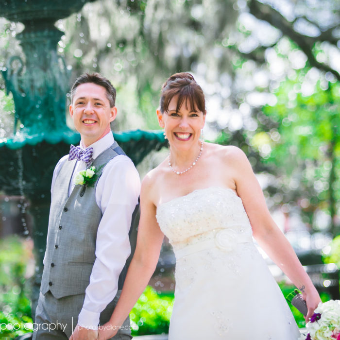 Wedding in Lafayette Square {Laura + Martin}