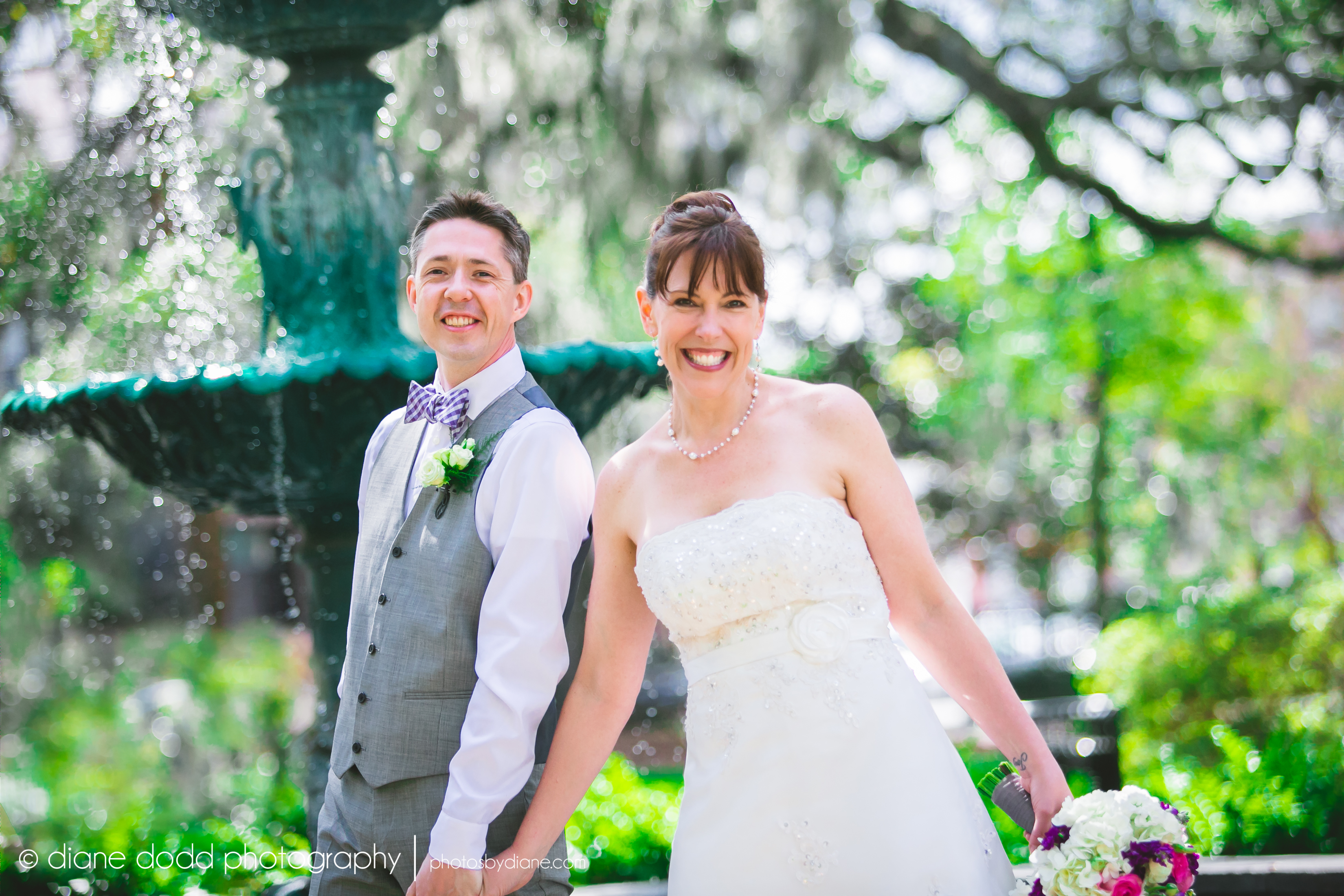 historic savannah wedding