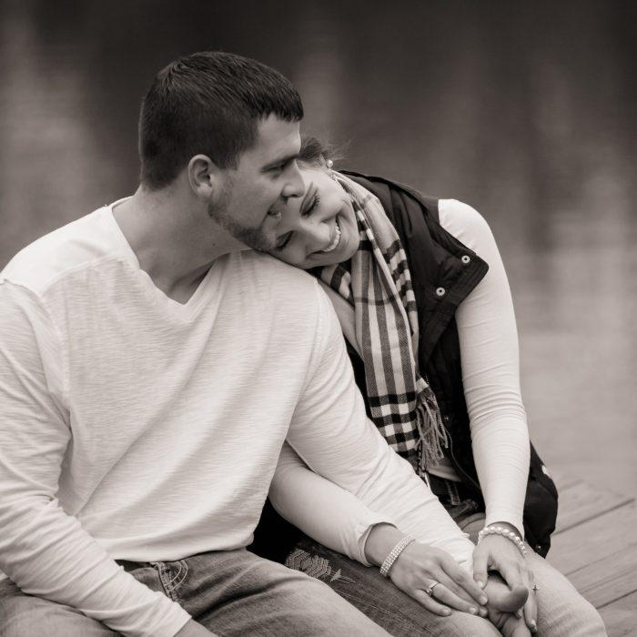 Engagement Session at Jingle Bell Farm {Shannon + Chris}