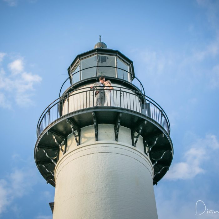 St. Simons Lighthouse Wedding {Laura + Logan} Diane Dodd Photography