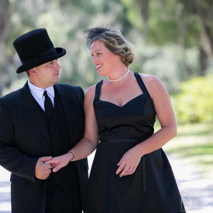 Bonaventure Cemetery Engagement Session | Savannah Photographer Diane Dodd