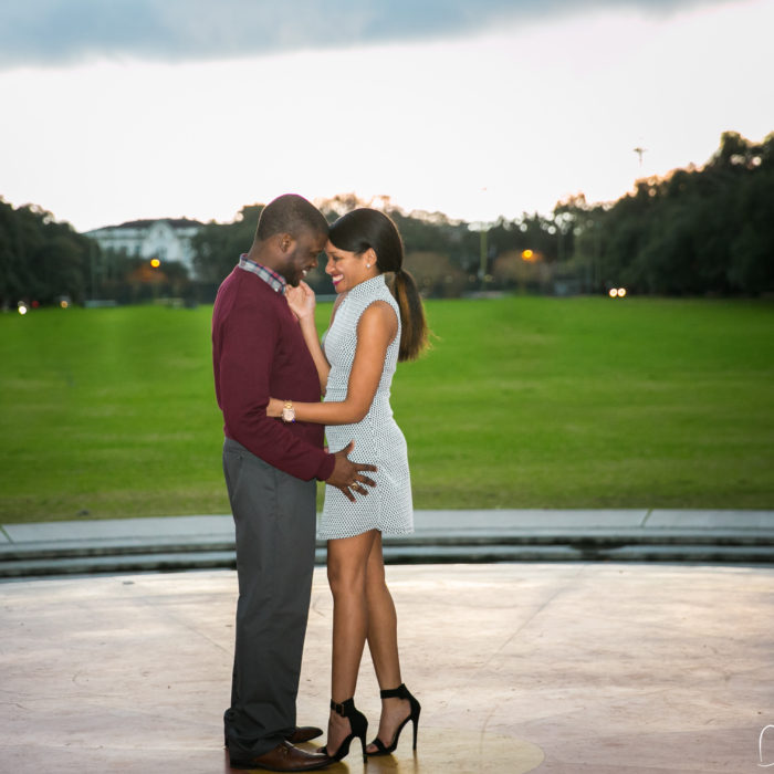 Forsyth Park Marriage Proposal