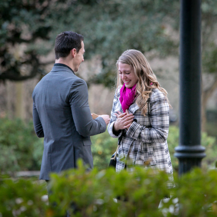 Forsyth Park | Savannah Marriage Proposal | Charles & Cherie