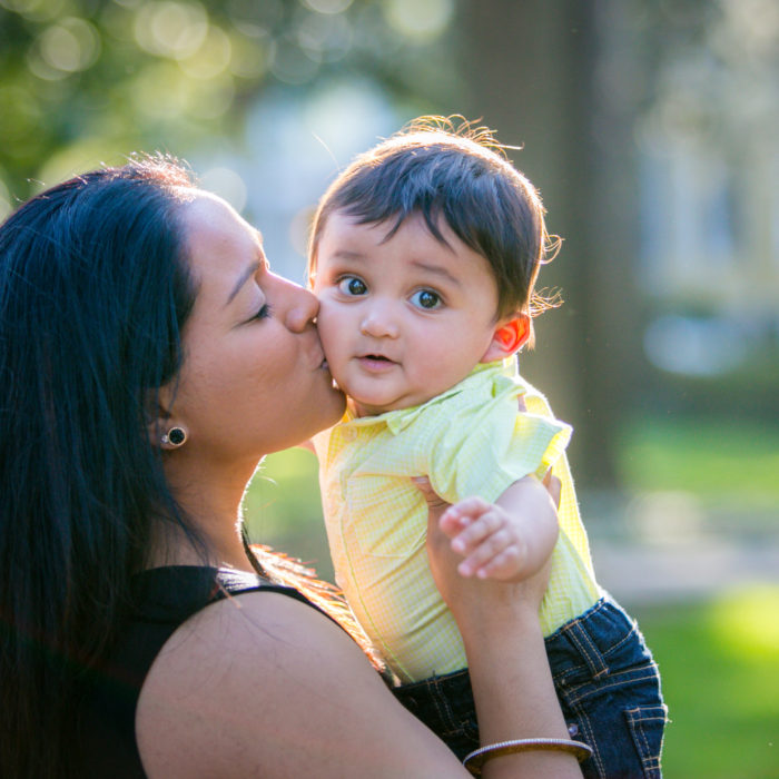 Forsyth Park | Savannah Family Portraits | Patel Family
