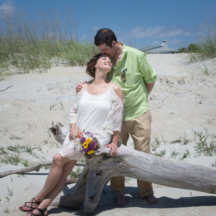 Tybee Island Destination Elopement | Tybee Weddings | Emily + Justin