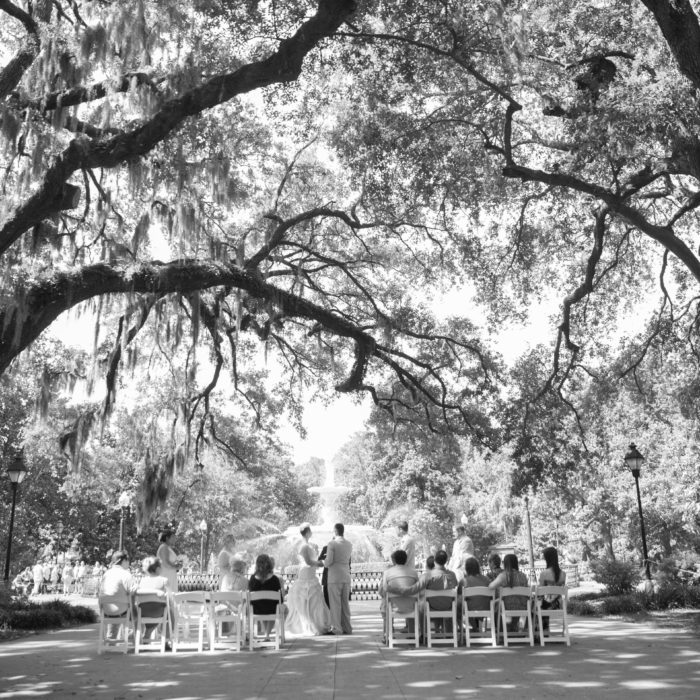 Forsyth Park Wedding | Savannah Weddings | Tara & Lonnie