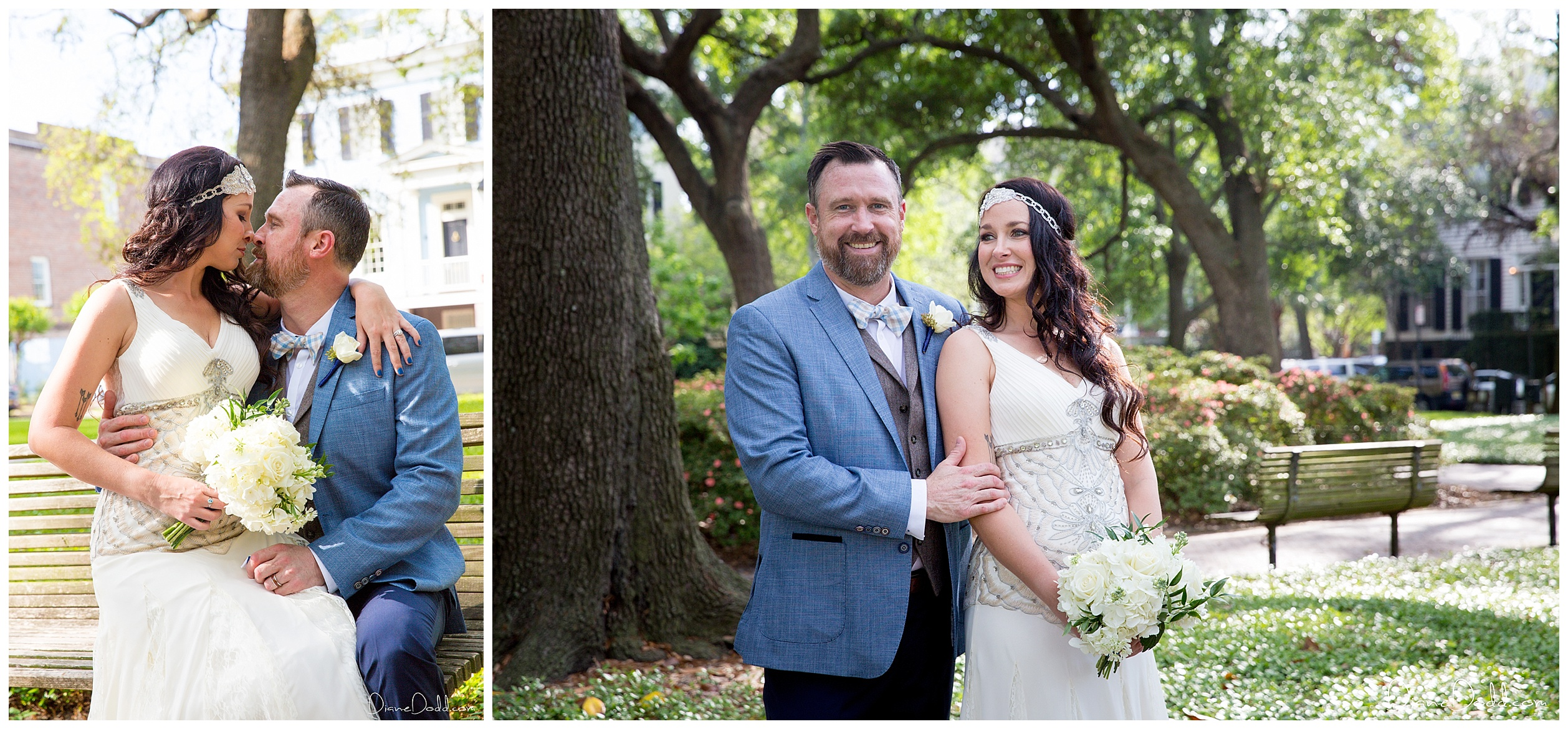 savannah elopement pulaski square