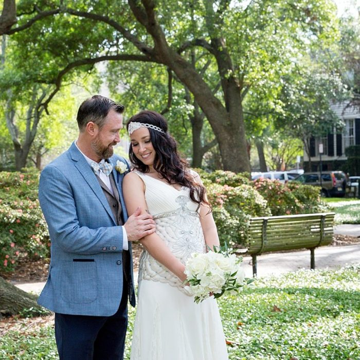 Pulaski Square | Savannah Elopement Photographer | Diane Dodd Photography
