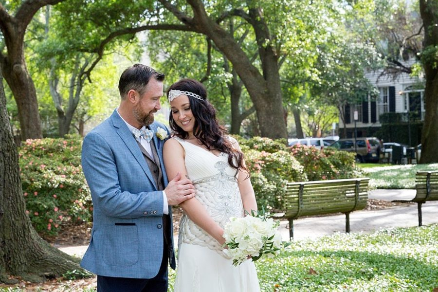 Pulaski Square Savannah Elopement