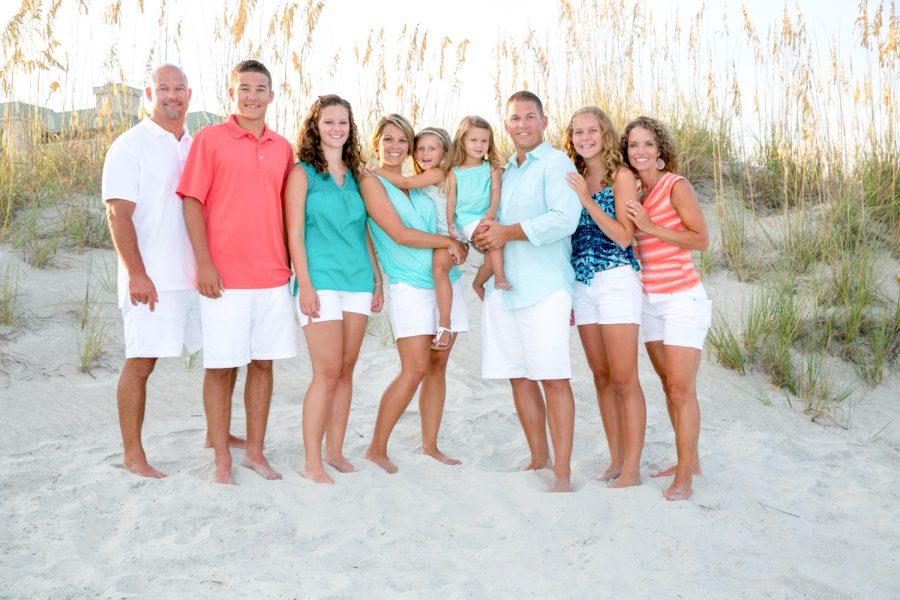 family on beach - Diane Dodd Photography - Savannah, Georgia