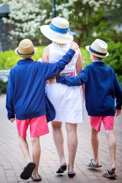 mom and sons -Diane Dodd Photography - Savannah Georgia