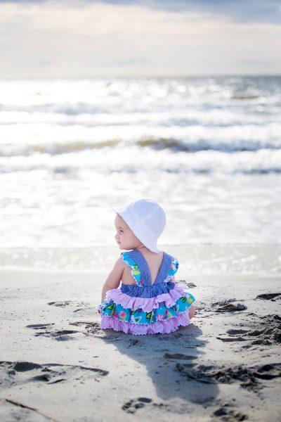 baby on beach -Diane Dodd Photography - Savannah Georgia