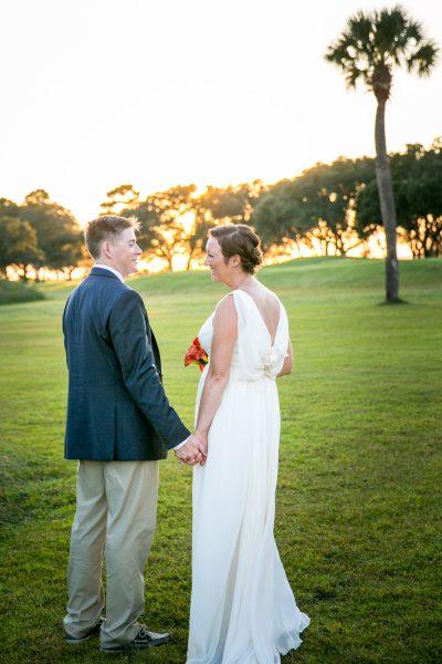 couple on wedding day - Diane Dodd Photography - Savannah, Georgia