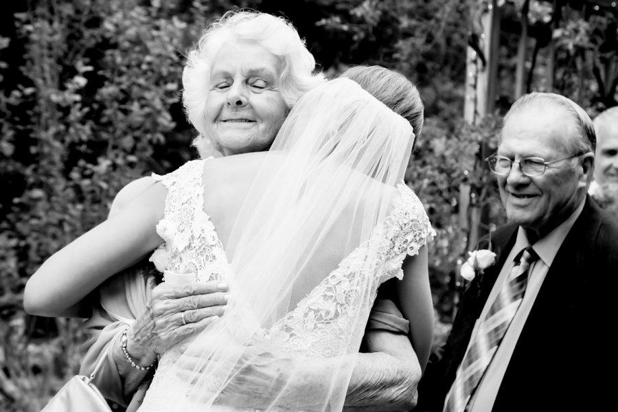 bride and grandmother - diane dodd photography - savannah georgia