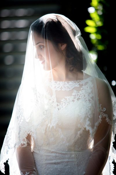bride in veil - diane dodd photography - savannah georgia