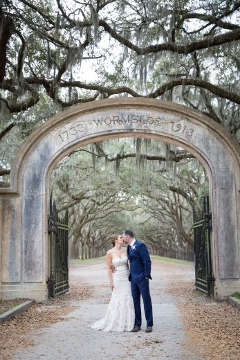 savannah wedding at wormsloe plantation