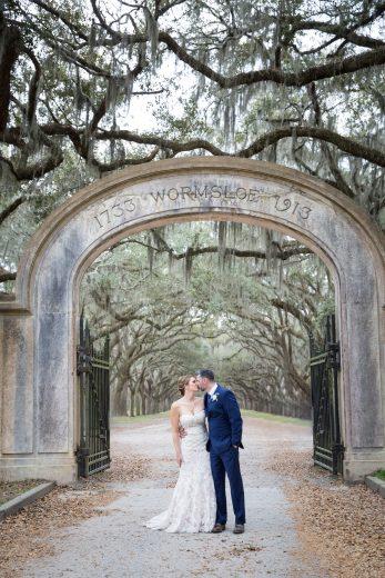 savannah wedding at wormsloe plantation