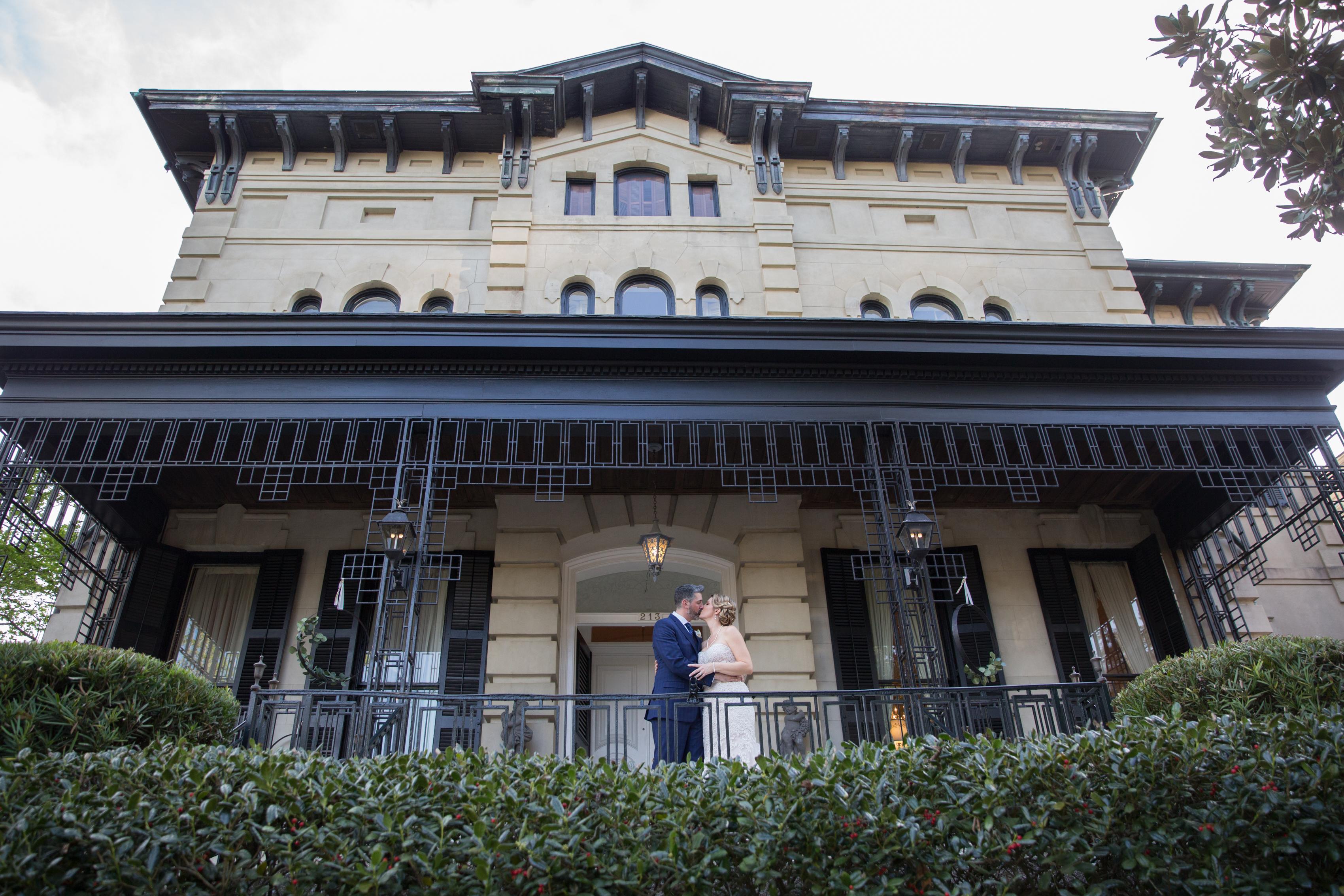 brockington hall wedding historic savannah