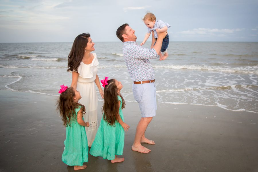 Tybee Beach Family Portraits Session