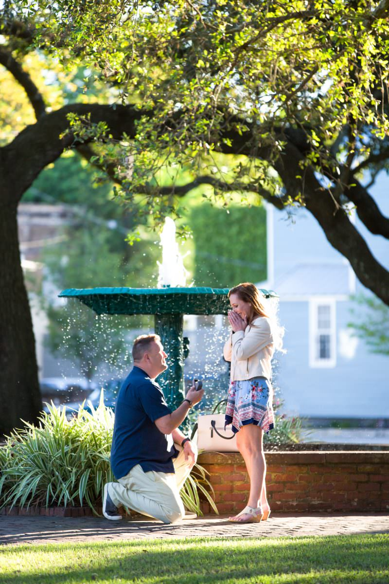 savannah proposal photography