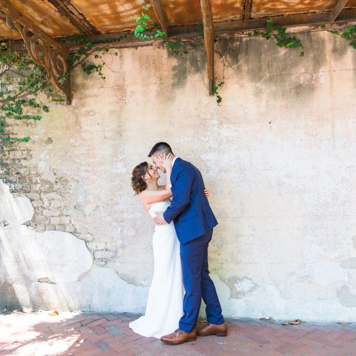 Ben + Irena | Intimate Wedding at The Gastonian + Brice Hotel {Savannah Wedding Photographer}