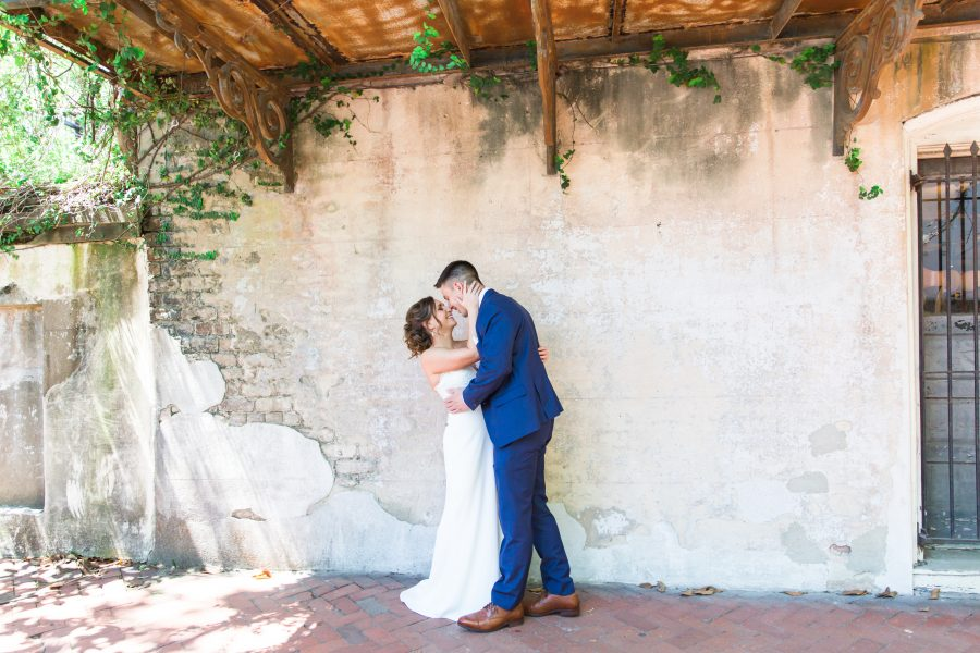 Ben + Irena | Intimate Wedding at The Gastonian + Brice Hotel {Savannah Wedding Photographer}