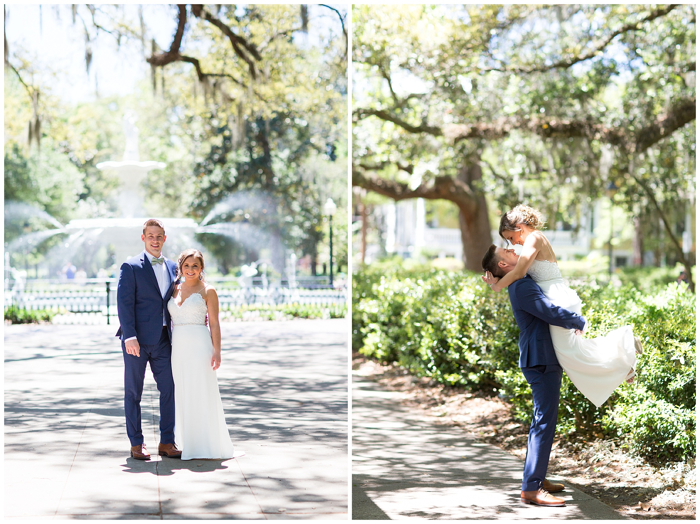 savannah proposal photographer whitefield square